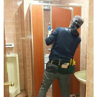 기관 화장실청소