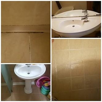 화장실 청소