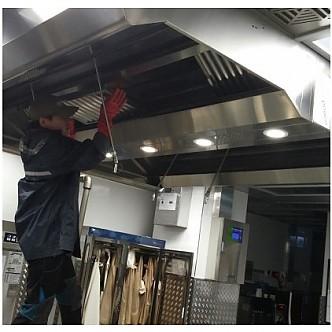 식당 청소